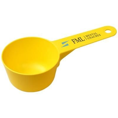 Picture of CHEFZ 100 ML PLASTIC MEASURING SCOOP in Yellow