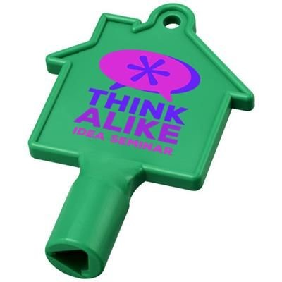 Picture of MAXIMILIAN HOUSE-SHAPED METERBOX KEY in Green