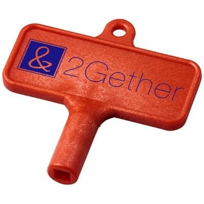 Picture of LARGO PLASTIC RADIATOR KEY in Red