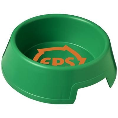 Picture of JETPLASTIC DOG BOWL in Green
