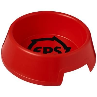 Picture of JETPLASTIC DOG BOWL in Red