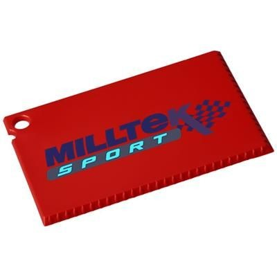 Picture of CORO CREDIT CARD SIZED ICE SCRAPER in Red