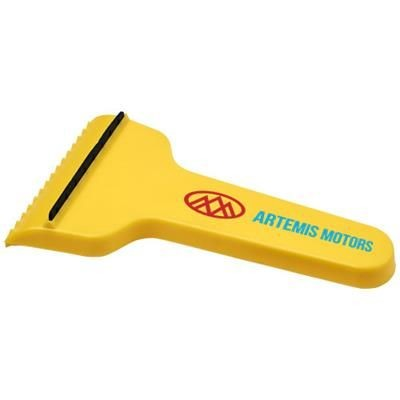 Picture of SHIVER T-SHAPED ICE SCRAPER in Yellow