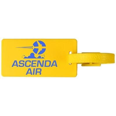 Picture of RIVER WINDOW LUGGAGE TAG in Yellow