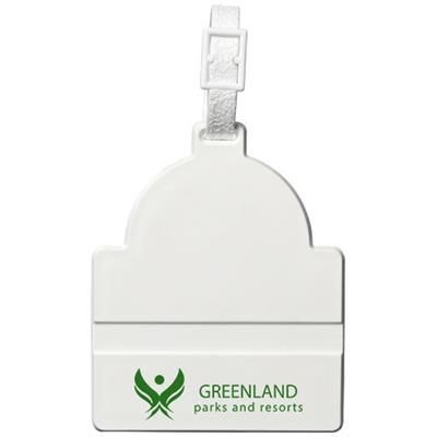 Picture of KAYA LUGGAGE TAG in White Solid