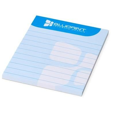 Picture of DESK-MATE® A7 NOTE PAD in White Solid