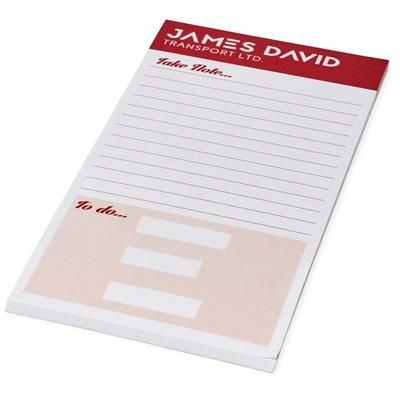 Picture of DESK-MATE® 1-3 A4 NOTE PAD in White Solid