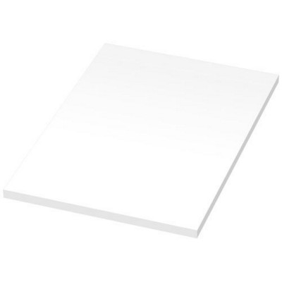 Picture of BUDGET A6 SCRIBBLE NOTE in White Solid