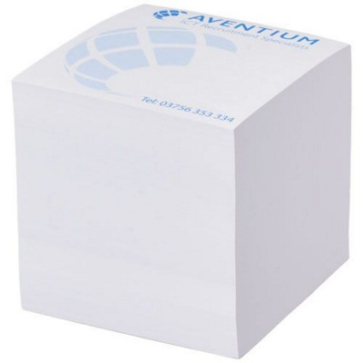 Picture of BLOCK-MATE 3A LARGE MEMO CUBE BLOCK 85X85 in White Solid