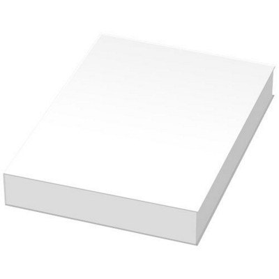 Picture of COMBI NOTES MARKER SET SOFT COVER in White Solid