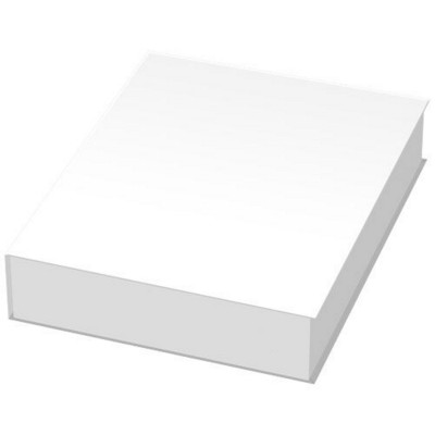 Picture of COMBI NOTES PAGE MARKER SET HARD COVER in White Solid