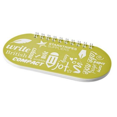 Picture of CAPSULE NOTE BOOK in Yellow-white Solid
