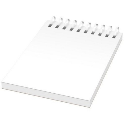 Picture of DESK-MATE® A7 NOTE BOOK SYNTHETIC COVER in White Solid