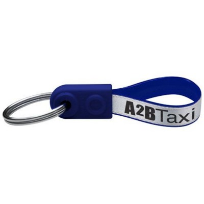 Picture of AD-LOOP ® MINI KEYCHAIN in Blue