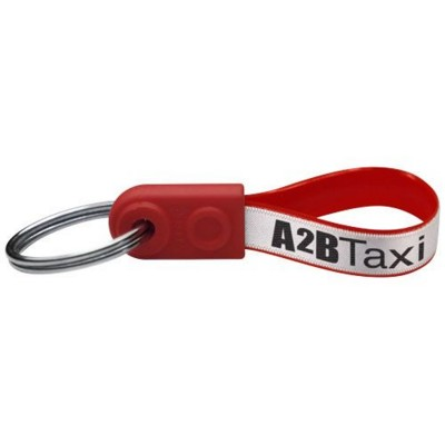 Picture of AD-LOOP ® MINI KEYCHAIN in Red