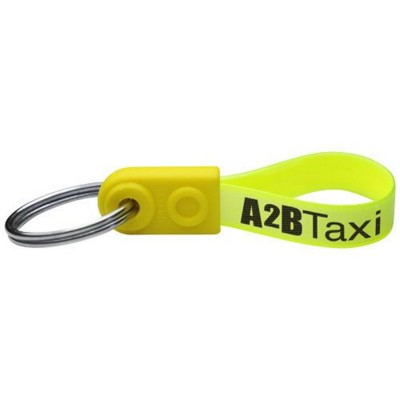 Picture of AD-LOOP ® MINI KEYCHAIN in Yellow