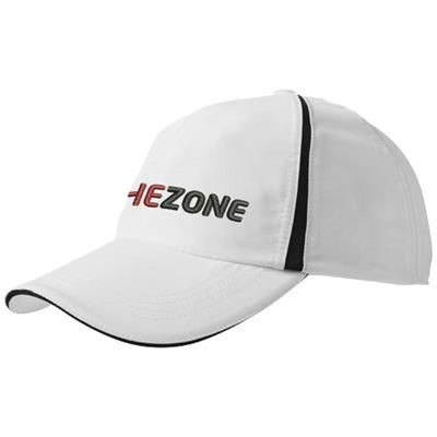 Picture of MOMENTUM 6-PANEL COOL FIT SANDWICH CAP in White Solid