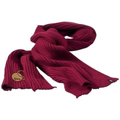 Picture of BROACH SCARF in Burgundy
