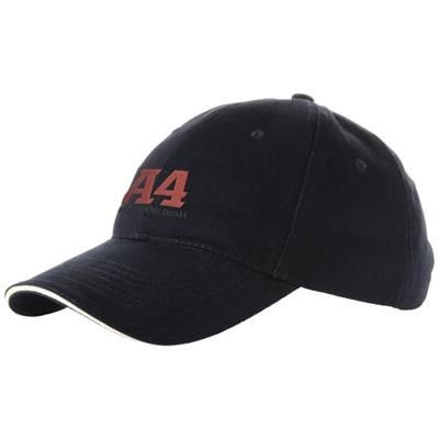 Picture of CHALLENGE 6 PANEL SANDWICH CAP in Navy