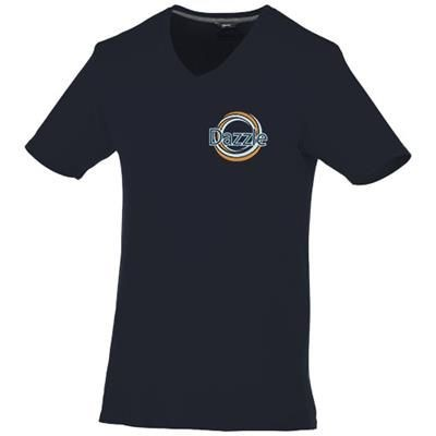 Picture of BOSEY SHORT SLEEVE MENS V-NECK T-SHIRT in Navy