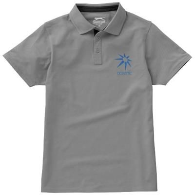 Picture of HACKER SHORT SLEEVE POLO in Grey