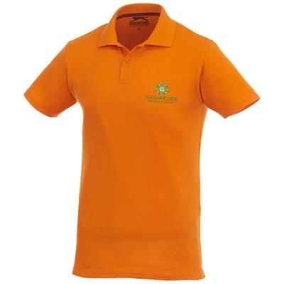 Picture of ADVANTAGE SHORT SLEEVE MENS POLO in Orange