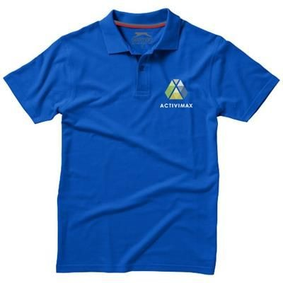 Picture of ADVANTAGE SHORT SLEEVE MENS POLO in Classic Royal Blue