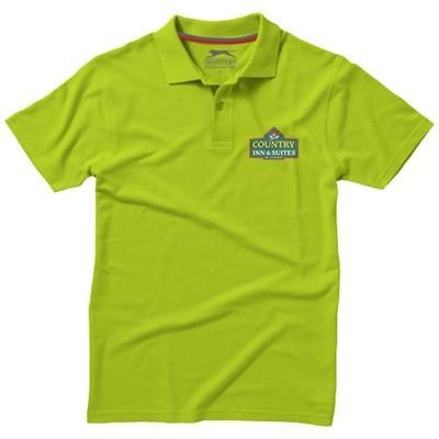 Picture of ADVANTAGE SHORT SLEEVE MENS POLO in Apple Green