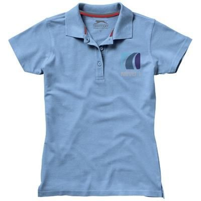 Picture of ADVANTAGE SHORT SLEEVE LADIES POLO in Light Blue