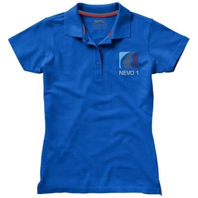 Picture of ADVANTAGE SHORT SLEEVE LADIES POLO in Classic Royal Blue