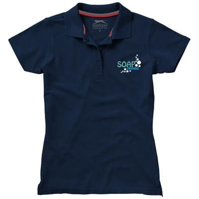 Picture of ADVANTAGE SHORT SLEEVE LADIES POLO in Navy