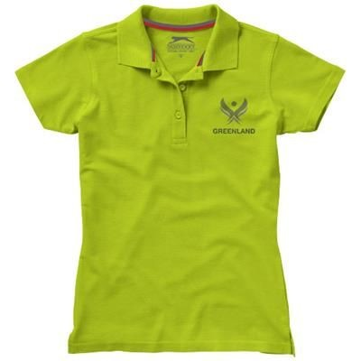 Picture of ADVANTAGE SHORT SLEEVE LADIES POLO in Apple Green