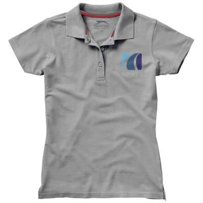 Picture of ADVANTAGE SHORT SLEEVE LADIES POLO in Grey