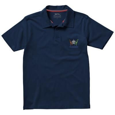 Picture of LET SHORT SLEEVE POLO in Navy