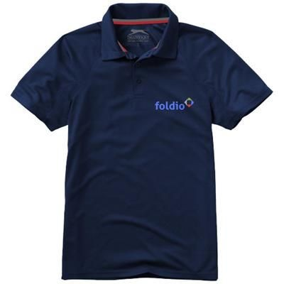 Picture of GAME SHORT SLEEVE MENS COOL FIT POLO in Navy