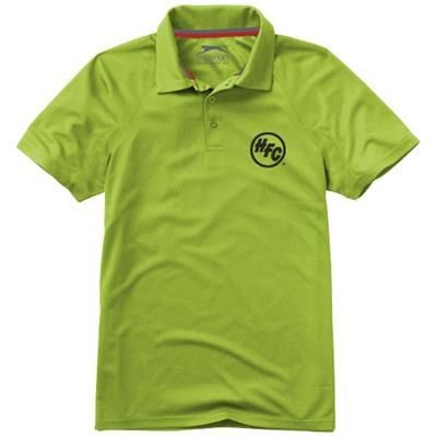 Picture of GAME SHORT SLEEVE MENS COOL FIT POLO in Apple Green