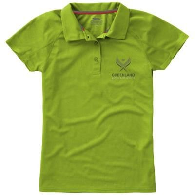 Picture of GAME SHORT SLEEVE LADIES COOL FIT POLO in Apple Green
