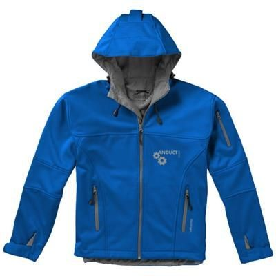 Picture of MATCH SOFTSHELL JACKET in Light Blue