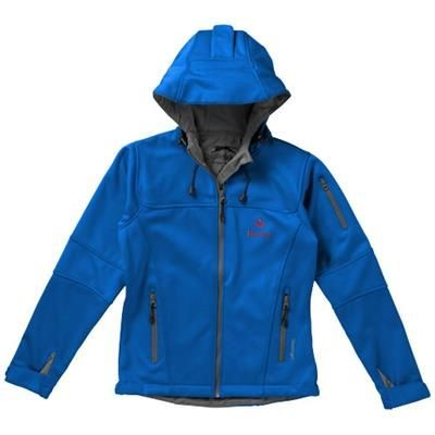 Picture of MATCH LADIES SOFTSHELL JACKET in Light Blue