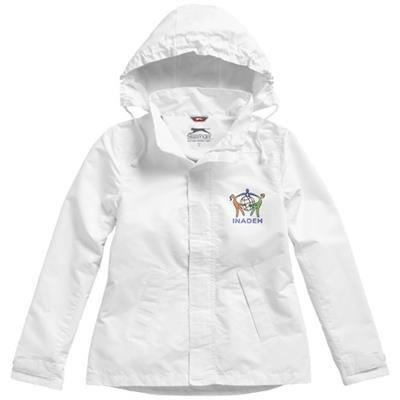 Picture of TOP SPIN JACKET in White Solid