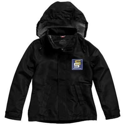 Picture of TOP SPIN JACKET in Black Solid