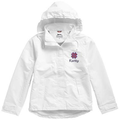 Picture of TOP SPIN LADIES JACKET in White Solid
