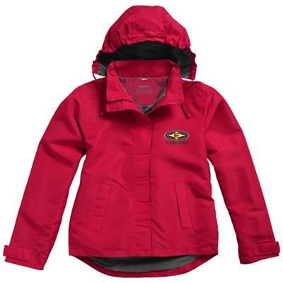 Picture of TOP SPIN LADIES JACKET in Red