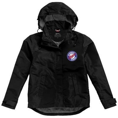 Picture of TOP SPIN LADIES JACKET in Black Solid