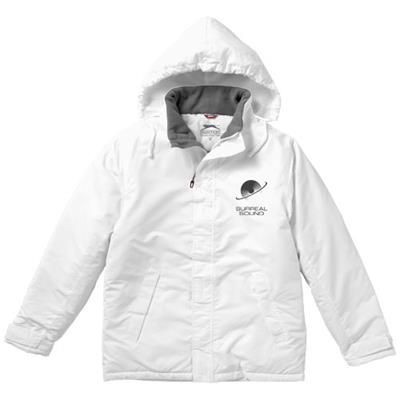 Picture of UNDER SPIN THERMAL INSULATED JACKET in White Solid