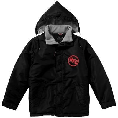 Picture of UNDER SPIN THERMAL INSULATED JACKET in Black Solid