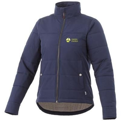 Picture of BOUNCER THERMAL INSULATED LADIES JACKET in Navy