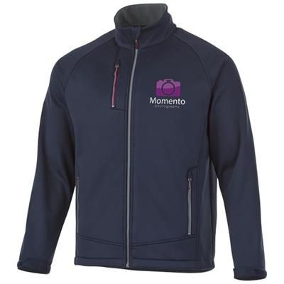 Picture of CHUCK SOFTSHELL JACKET in Navy