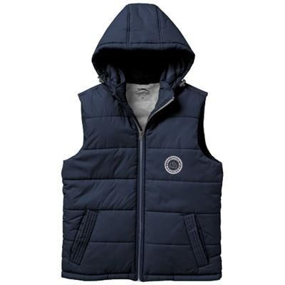 Picture of MIXED DOUBLES BODYWARMER in Navy
