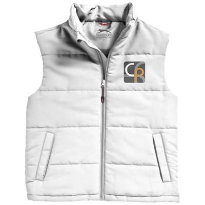 Picture of GRAVEL BODYWARMER in White Solid